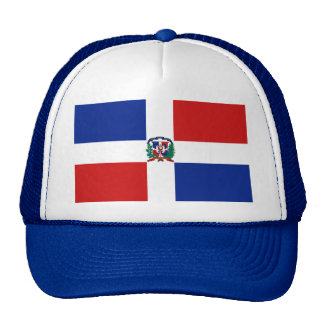 Dominican Republic Flag Hat