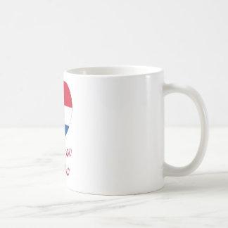 Dominican Republic Flag Heart with Name Coffee Mug