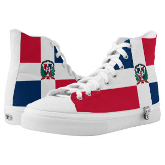 Dominican Republic Flag High-Top Sneakers