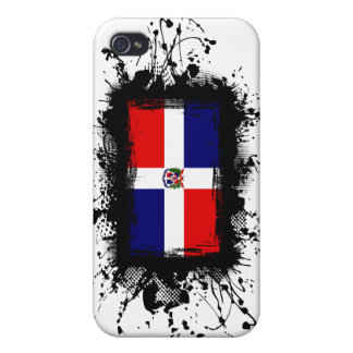 Dominican Republic Flag Case For iPhone 4