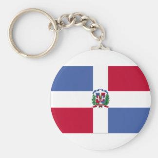 Dominican Republic Flag Key Chain