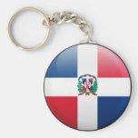 Dominican Republic Flag Key Chains
