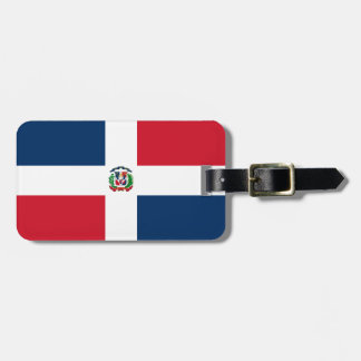 Dominican Republic flag Tags For Bags