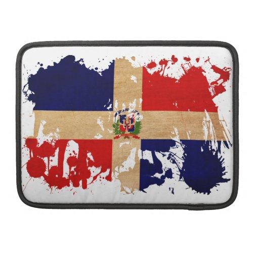 Dominican Republic Flag MacBook Pro Sleeve