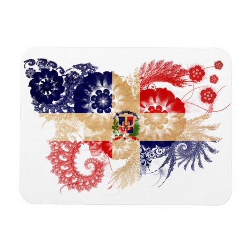 Dominican Republic Flag Magnet
