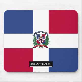 Dominican Republic Flag Mouse Pad