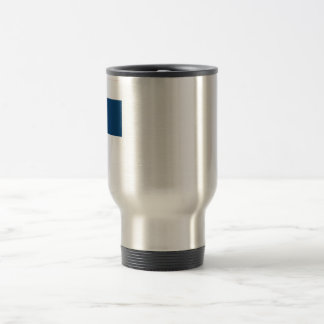 Dominican Republic Flag 15 Oz Stainless Steel Travel Mug