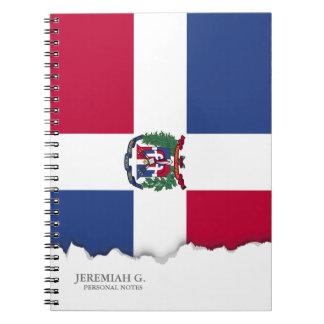 Dominican Republic Flag Notebook