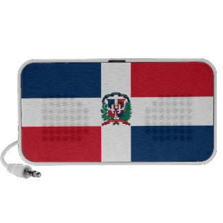 Dominican Republic Flag Notebook Speaker