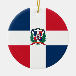 Dominican Republic Flag Ornament