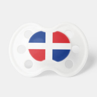 Dominican Republic Flag Baby Pacifiers