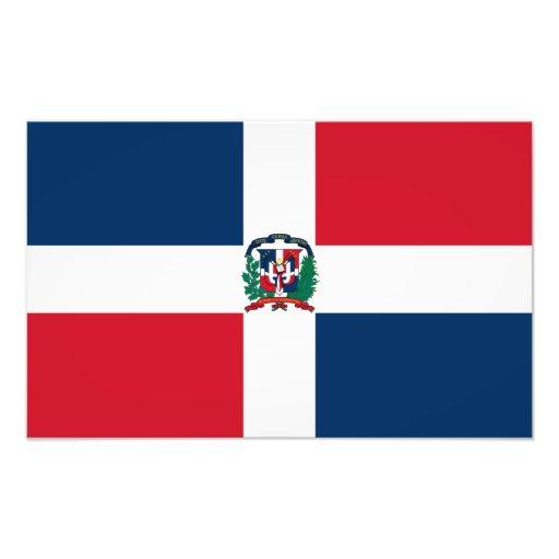 Dominican Republic Flag Photograph