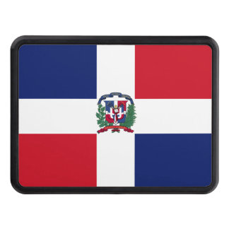 Dominican Republic Flag Tow Hitch Cover