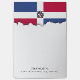 Dominican Republic Flag Post-it Notes