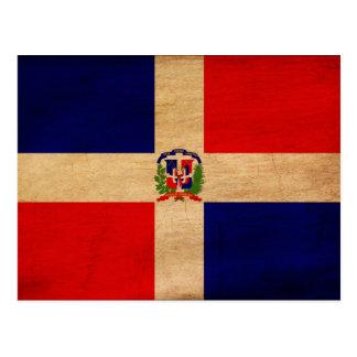 Dominican Republic Flag Postcards