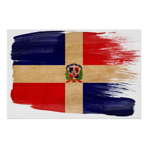 Dominican Republic Flag Posters