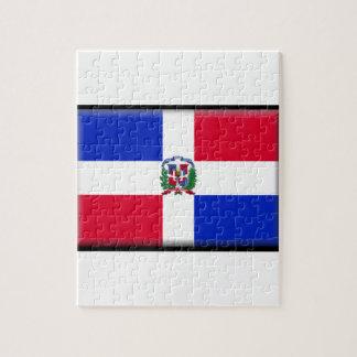 Dominican Republic Flag Jigsaw Puzzle