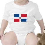 Dominican Republic Flag Rompers