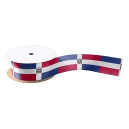 Dominican Republic Flag Satin Ribbon