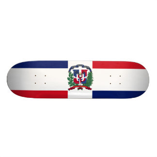 Dominican Republic Flag Skateboard