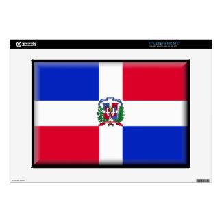 "Dominican Republic Flag 15"" Laptop Skin"