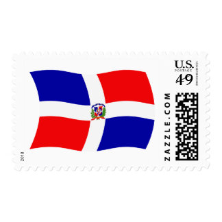 Dominican Republic Flag Stamps