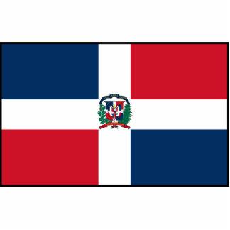 Dominican Republic Flag Statuette