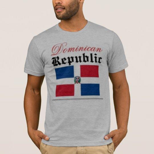 Dominican Republic flag T-Shirt