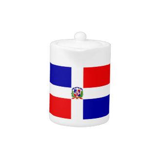 Dominican Republic Flag Teapot