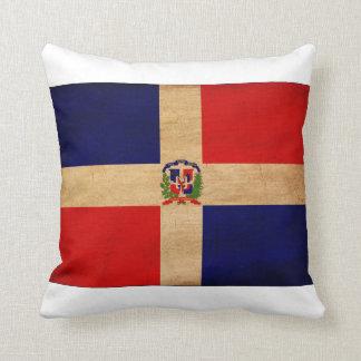 Dominican Republic Flag Throw Pillow
