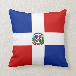 Dominican Republic Flag x Flag Pillow