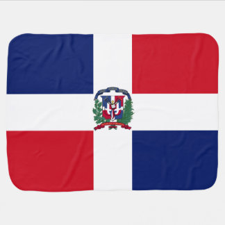 Dominican Republic Flag Baby Blankets