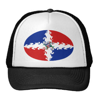 Dominican Republic Gnarly Flag Hat