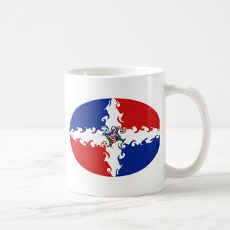 Dominican Republic Gnarly Flag Mug
