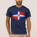 Dominican Republic Gnarly Flag T-Shirt