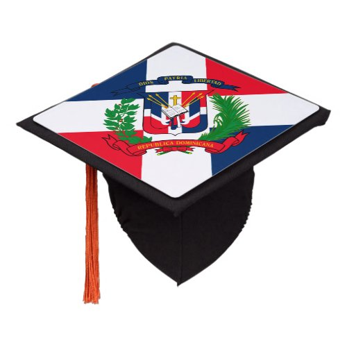 Dominican Republic Graduation Cap Topper