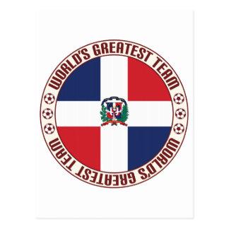 Dominican Republic Greatest Team Postcard