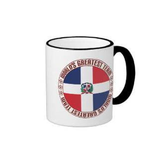 Dominican Republic Greatest Team Ringer Coffee Mug