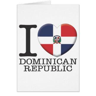 Dominican Republic Greeting Card