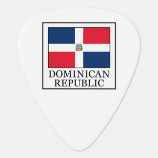 Dominican Republic Guitar Pick