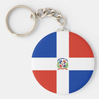 Dominican Republic High quality Flag Keychain