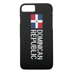 Dominican Republic iPhone 8/7 Case