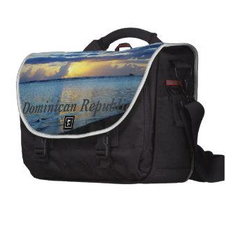 Dominican Republic Laptop Messenger Bag