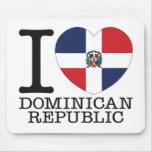 Dominican Republic Love v2 Mousepad