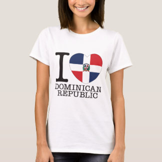 Dominican Republic Love v2 T-Shirt