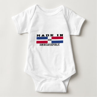 Dominican Republic Made In Designs Baby Bodysuit