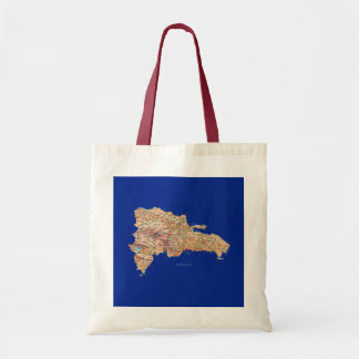 Dominican Republic Map Bag