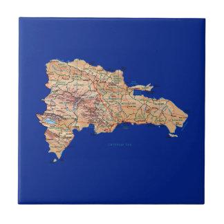 Dominican Republic Map Tile