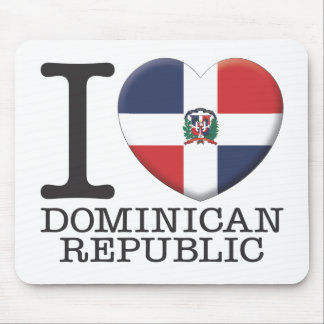 Dominican Republic Mouse Pad