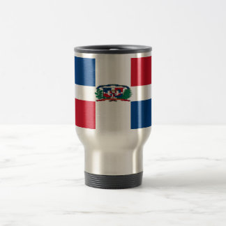Dominican Republic 15 Oz Stainless Steel Travel Mug